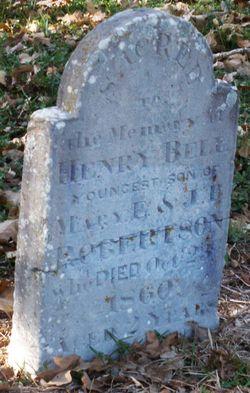 Henry Bell Robertson