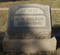 Max Hubert Balkum