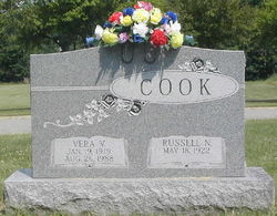 Vera V. <i>Ward</i> Cook