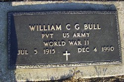 William C G Bull
