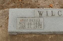 Inez Dever Wilcox