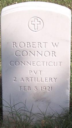 Private Robert W Connor