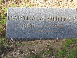 Martha A. <i>Lyon</i> Whitney