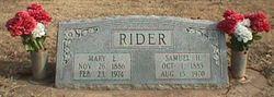 Samuel H Rider