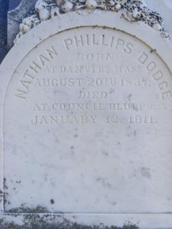 Nathan Phillips Dodge, Sr