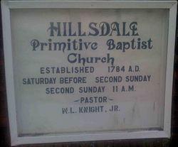 Hillsdale Primitive Baptist Church