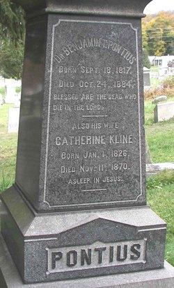 Catherine <i>Kline</i> Pontius
