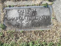 Caldwell Alexander