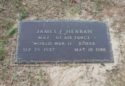 Maj James F. Herban