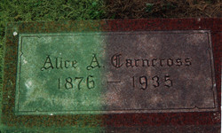 Alice Agnes Carncross