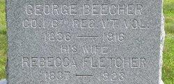 Rebecca <i>Fletcher</i> Beecher