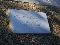 William Harold Dixon, Sr