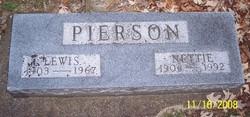 Nettie Alta <i>Colbert</i> Pierson