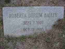 Roberta <i>Derum</i> Bailey
