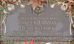 Esther E. <i>May</i> Heidenfelder