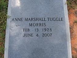 Anne Marshall <i>Tuggle</i> Morris