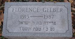 Florence <i>Goldstein</i> Gelber