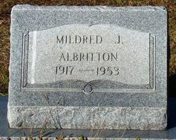 Mildred J Albritton