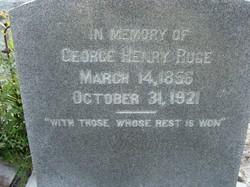 George Henry Ruge