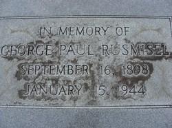 George Paul Rusmisel