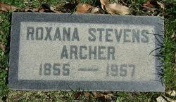 Roxana Josephine <i>Stevens</i> Archer