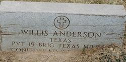 Willis Anderson