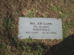 Billy Joe Gann