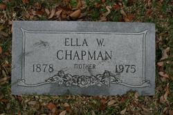 Ella Cordelia <i>Whiddon</i> Chapman