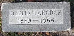 Odelia <i>Sandusky</i> Langdon
