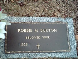 Robbie M Burton