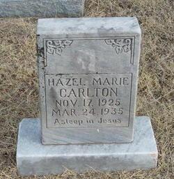 Hazel Marie Carlton