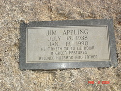 Alex James Jim Appling