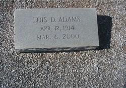 Lois <i>Dorminy</i> Adams