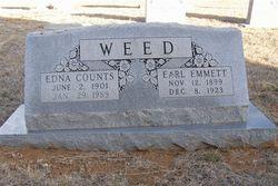 Edna Agnes <i>Counts</i> Weed