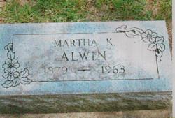 Martha K. <i>?</i> Alwin