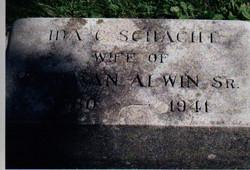 Ida C. <i>Schacht</i> Alwin