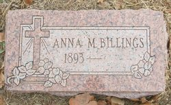 Anna M Billings