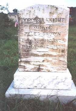 Dorcas A. <i>Knight</i> Brown