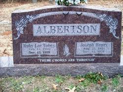 Ruby Lee Tobey <i>Gann</i> Albertson