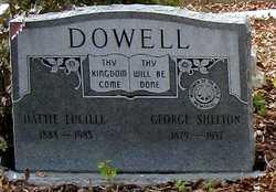 Hattie Lucille <i>Palmer</i> Dowell Gilbert