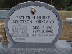 Esther H <i>Hurst</i> Bengtson-Kirkland