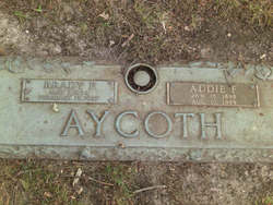 Addie C <i>Farlow</i> Aycoth