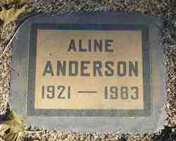 Aline A. <i>Cain</i> Anderson