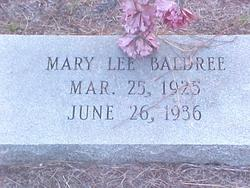 Mary Lee Baldree