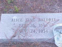 Mary Alice <i>King</i> Baldree