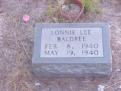 Lonnie Lee Baldree