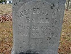 Zebedee B. Baird
