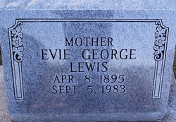 Evie <i>George</i> Lewis