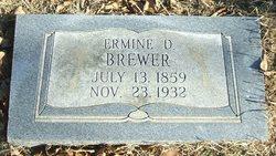 Ermine D Brewer