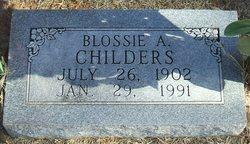 Tobatha Angeline Blossie <i>Geyer</i> Childers
